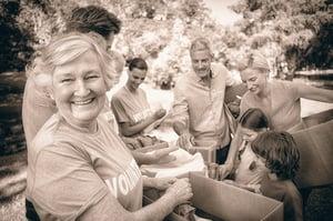 Retirement activities volunteering