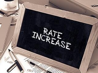 AT&T corporate bond rate increase