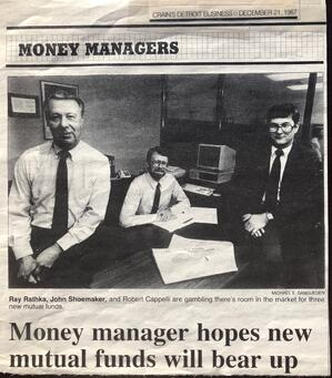 Advance Capital Management history