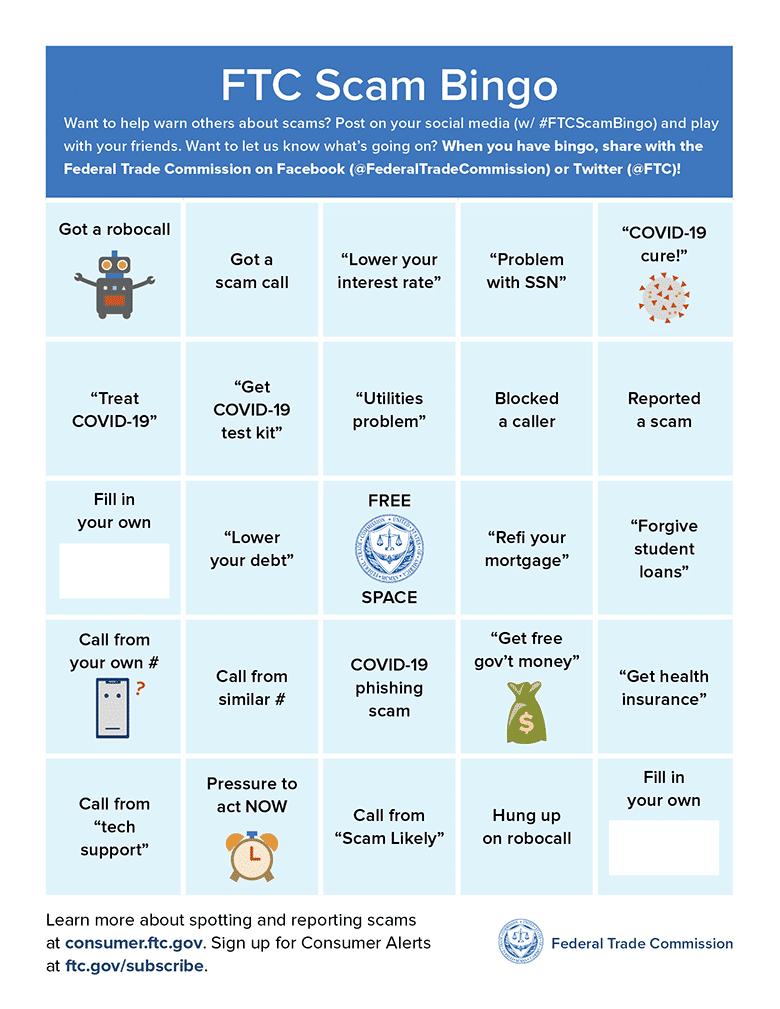 covid bingo