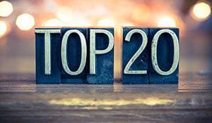 top 20 2020